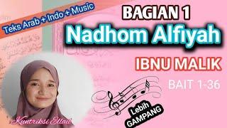 LAGU NADHOM ALFIYAH - BAGIAN 1 Kuntriksi Ellail - Arab & Indo Liric. Raggae Version