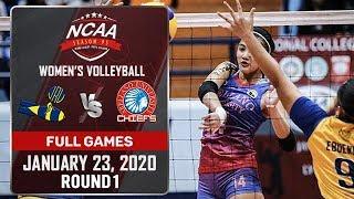 JRU vs. AU - January 23, 2020   Full Game   3rd Set   NCAA 95 WV