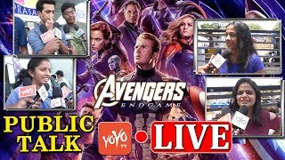 Avengers Endgame Movie Public Talk LIVE | Avengers Endgame Review | YOYO TV LIVE