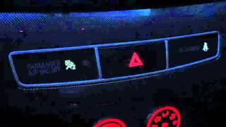 Индикация включённой аварийки на Mitsubishi Lancer Ex GT вечером
