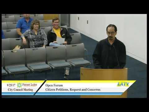 FL City Council Meeting 9 25 17