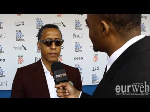 Andre Royo shares what his favorite Jay Z record is at the 2017 Independent Spirit Awards