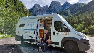 PRVNÍ PROBLÉM NA CESTĚ V DODÁVCE, SOUTĚSKA & HALLSTATT   VAN LIFE full-time, EUROPE, campervan L4H3