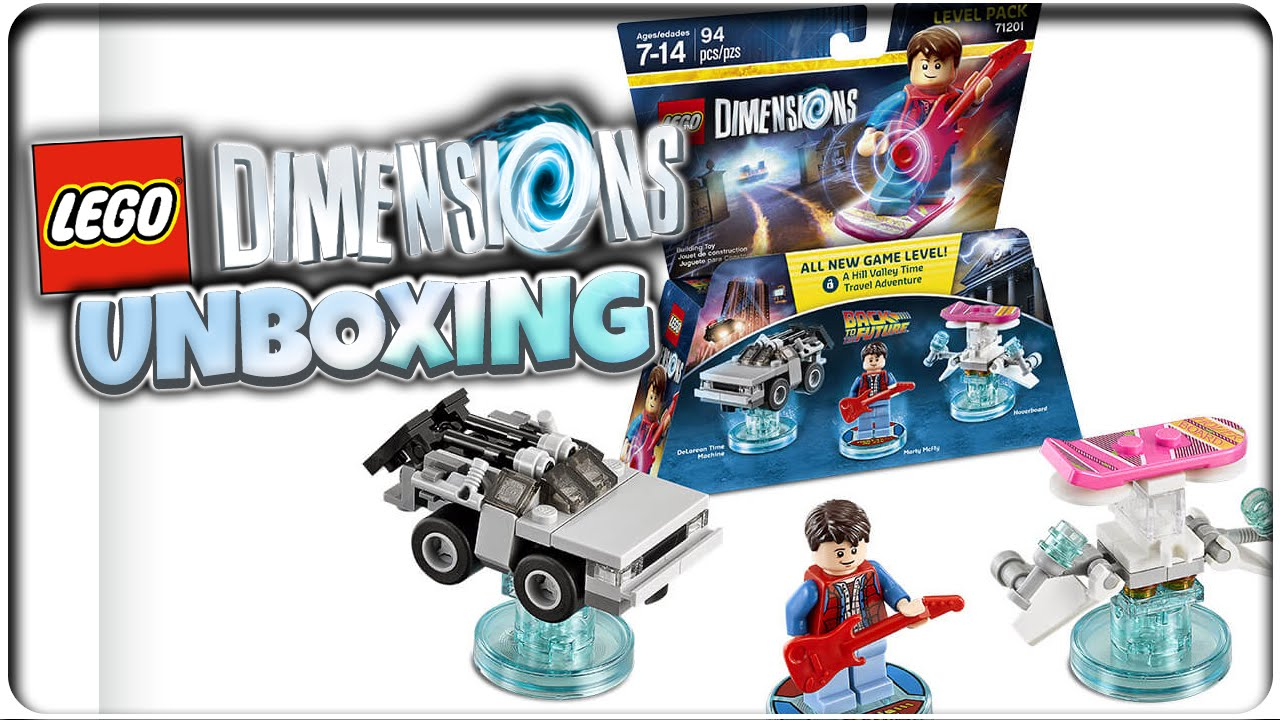 lego dimensions level pack zur ck in die zukunft marty. Black Bedroom Furniture Sets. Home Design Ideas