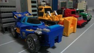 Hello Carbot 2 Robot Transformer Set Toys 헬로카봇 브레이브 로드 마하 피스 로봇 장난감 합체
