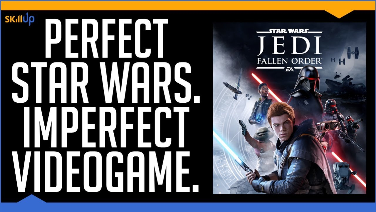 Star Wars Jedi Fallen Order Feels Like Coming Home (Review) (Video Game Video Review)