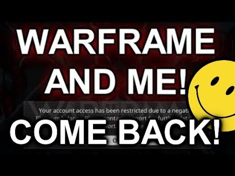 WARFRAME & ME Continuation, The DEV FINALLY Responded & Important Message For You!