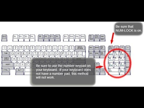 How To Make Symbol With Keyboard Shortcut Key Youtube