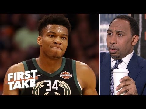 Giannis is not better than LeBron, Kevin Durant or Anthony Davis  - Stephen A. | First Take