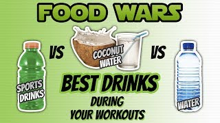 Sport Drinks vs Water vs Coconut Water (BEST DRINK DURING YOUR WORKOUT) | LiveLeanTV