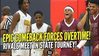 Chase Adams comes through in CLUTCH! HUGE COMEBACK! Markese Jacobs, Uplift Take Orr to OT!