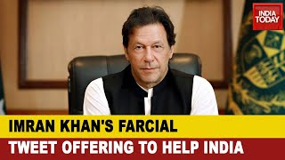 Pakistan PM, Imran Khan Tweets Offering To Help India With Direct Benefit Cash Transfer Scheme