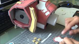 HULKBUSTER (Part 2 - Torso) - Papercraft