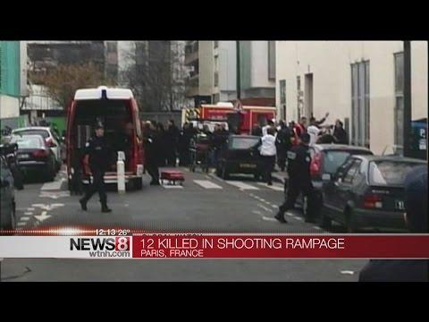 12 dead in attack on Paris newspaper; France goes on alert