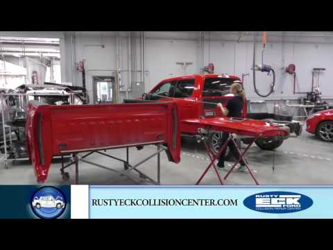 Collision Center – F150 Repair Process – Updated