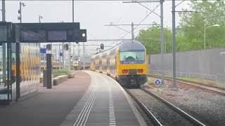 Treinen in Rotterdam Breda lage zwaluwe en Gilze-rijen