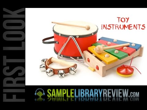 First Look Toy Instruments Review from T.D. Samples • Sample Library Review
