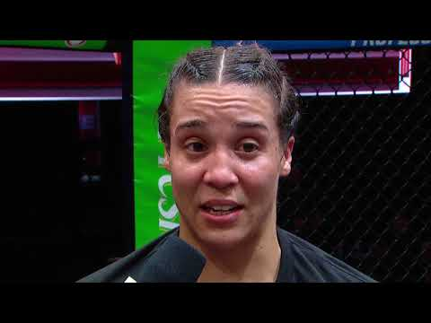 Taylor Guardado is 2021 PFL Championship Bound   Post Fight Interview