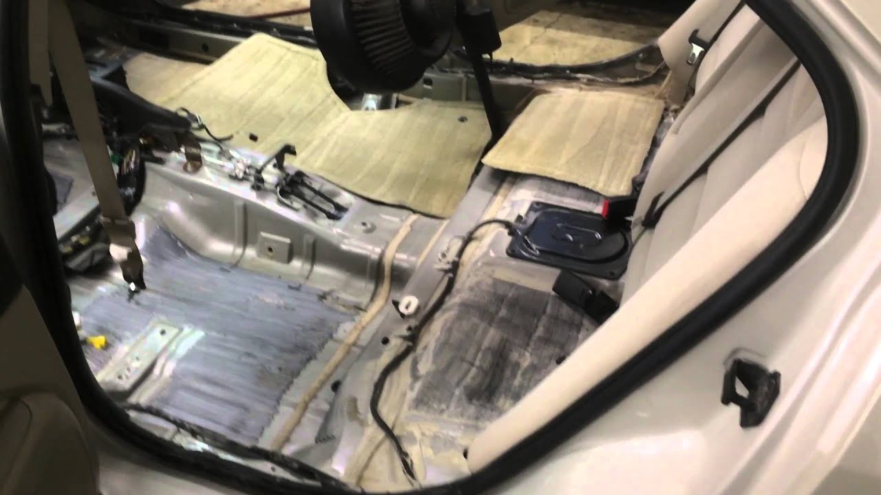Ford Fusion A C Water Leak Youtube