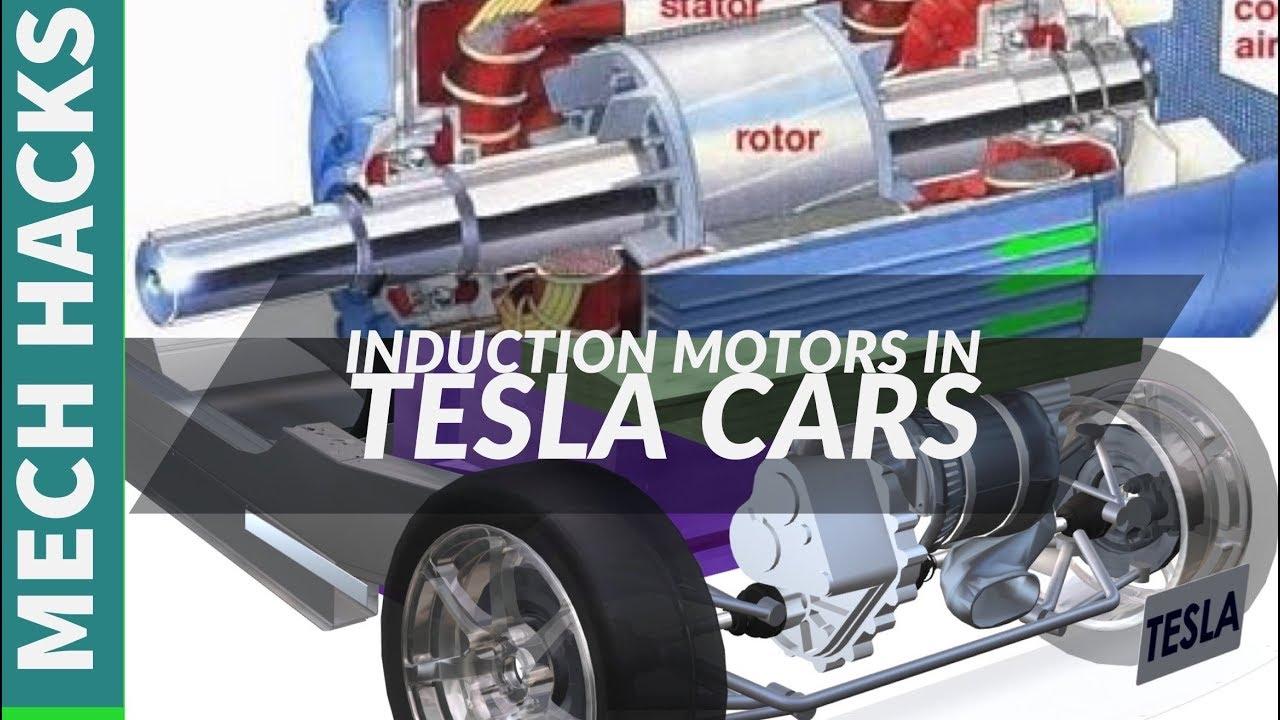 How Induction Motor Works | How Tesla Car Motor Works | Full Details | English