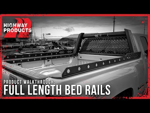 Highway Products | Full-Length Bed Rails