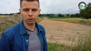 Gazociągiem w rolników! Sprzęt wjechał w pole i zniszczył uprawy!