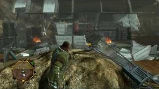 Red Faction: Guerrilla  - SLOW MOTION destruction / explosions / hammertime (HD) High Definition