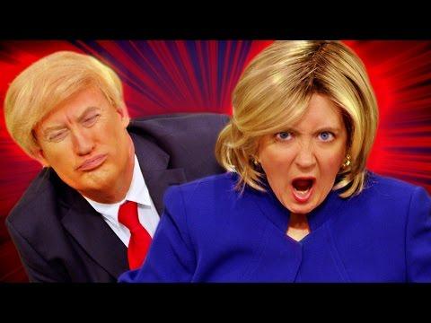 Hamilton PARODY - Hillary Rodham Clinton! The Key of Awesome #114