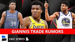 Giannis trade rumors have been swirling around the bucks were eliminated from nba playoffs by miami heat. are buzzing even more arou...