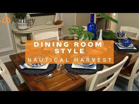Ashley HomeStore | Dining Room Style: Nautical Harvest