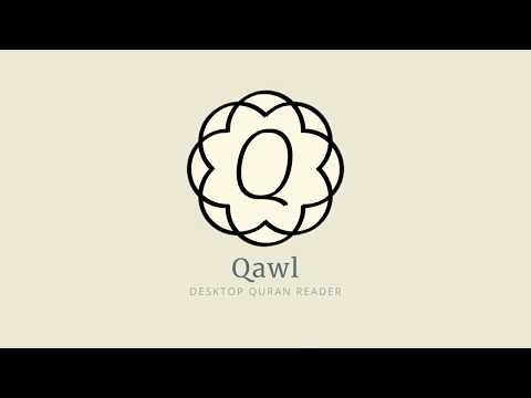 Qawl — Desktop Quran Reader App