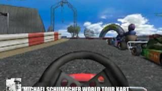 Michael Schumacher World Tour Kart Intro + Gameplay (PC)
