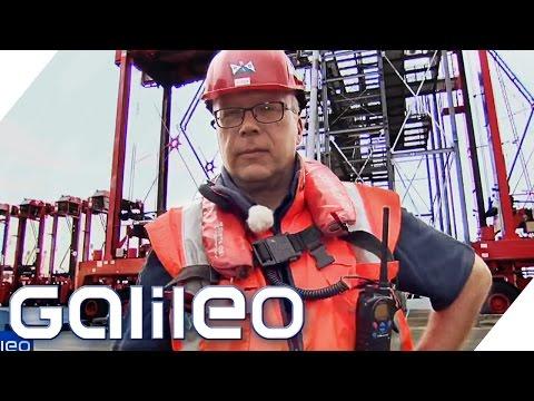 Die gefährlichsten Jobs Deutschlands: Der Festmacher | Galileo | ProSieben