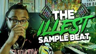 the illest sample beat (making a boom bap beat)