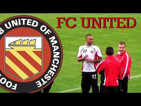 FC United of Manchester, un corte de mangas al fútbol moderno