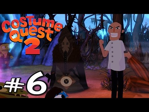 Costume Quest 2 | E06 | Witches' Bog! (Gameplay / Playthrough / 1080p)