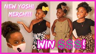 NEW YOSHI MERCH FASHION HAUL + CASH GIVEAWAY! | YOSHIDOLL