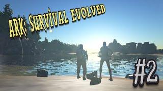 #2【ARK:Survival Evolved】そしておっさん二人は貪った・・・。【二人実況】 thumbnail
