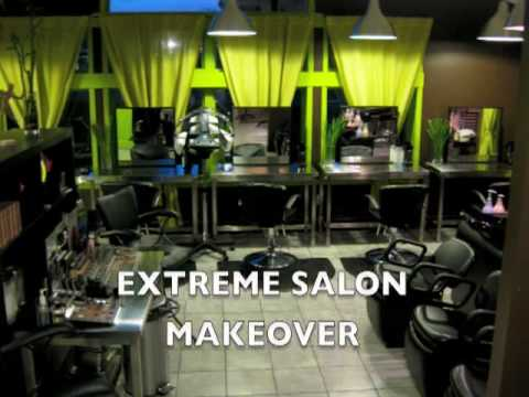 Extreme salon makeover pineapple day spa pine bush for A touch above salon