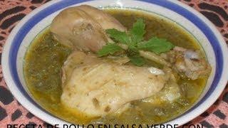 Pollo En Salsa Verde Con Nopalitos ( Los Angeles Cocinan )