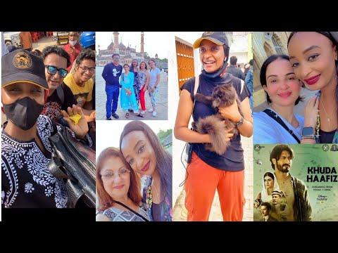 Download Kai tsaye daga kasar India Rahama Sadau a wurin daukar film din Khuda Hafeez 2