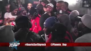 Gros freestyle de Jul avec la Liga One et Ghetto phénomène en live dans Planète Rap