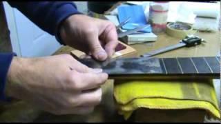 Luthier Tips Du Jour - Nut And Saddle Making