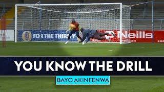 Bayo's diving header! | Adebayo Akinfenwa v Jimmy Bullard | Wycombe Wanderers | You Know The Drill