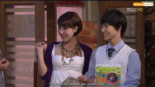 {SHINeeSubs} 090515 Taehee Hyegyo Jihyun EP54 (Taemin Cut)
