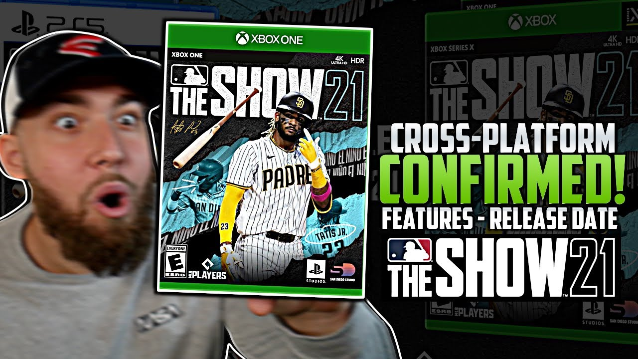 MLB The Show 21 HUGE NEWS on Xbox (Cover Reveal, Release Date, Cross-Platform, Features)