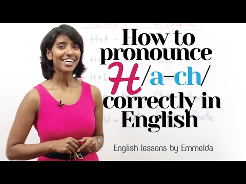 How to Pronounce 'H' correctly in English? – Improve  English pronunciation   Improve your Accent