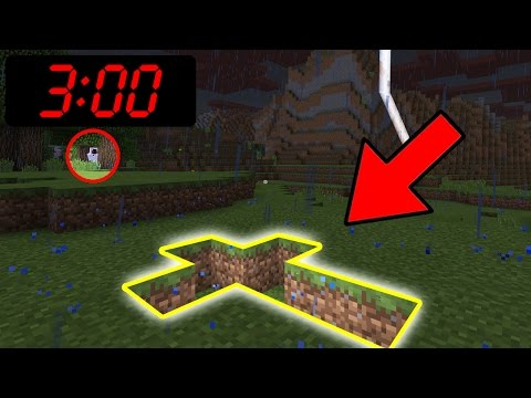 Do NOT Play Minecraft Pocket Edition on FRIDAY the 13th at 3:00 AM!!!