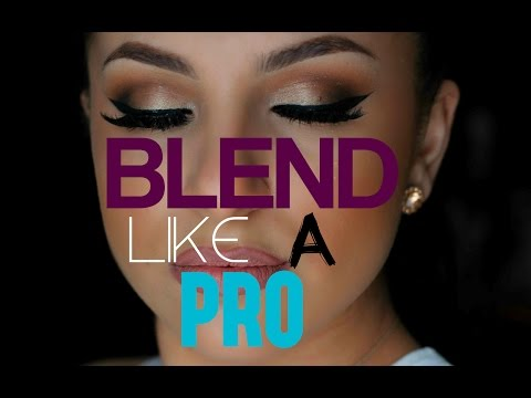 How To Blend Your Eyeshadow Like A PRO! IN DEPTH