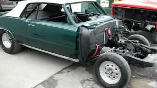 JOHNS RESTORATION / BODY WORK & PAINT ON A 1965 GTO